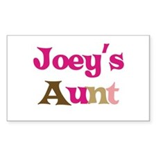 Joey's Aunt Rectangle Decal