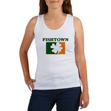 Fishtown Irish (orange) Women's Tank Top