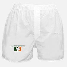 Camden County Irish (orange) Boxer Shorts