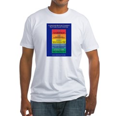 Rapture Alert Fitted T-shirt (Made in th