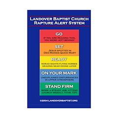 Rapture Alert - Posters