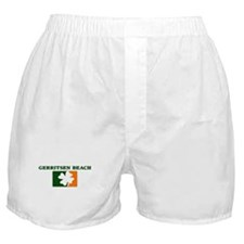 Gerritsen Beach Irish (orange Boxer Shorts