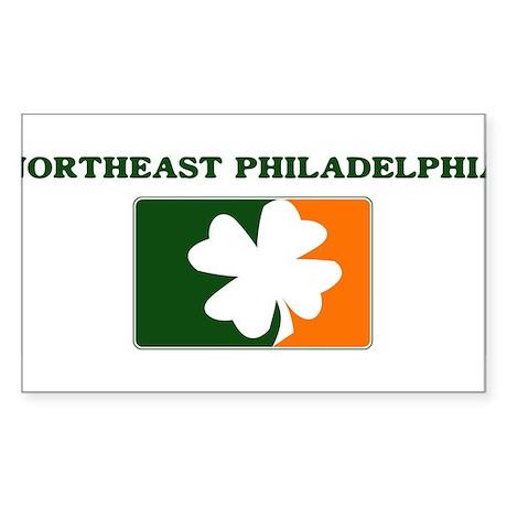 Northeast Philadelphia Irish Rectangle Sticker