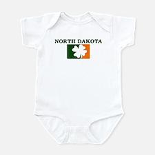 North Dakota Irish (orange) Infant Bodysuit