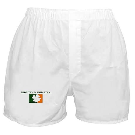 Midtown Manhattan Irish (oran Boxer Shorts