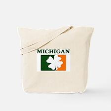 Michigan Irish (orange) Tote Bag