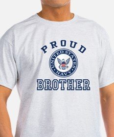 Proud US Navy Brother T-Shirt