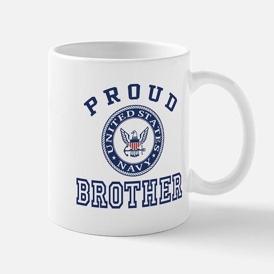 Proud US Navy Brother Mug