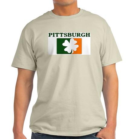 Pittsburgh Irish (orange) Light T-Shirt
