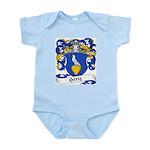 Hertz Family Crest Infant Creeper