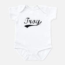 Vintage Troy (Black) Infant Bodysuit