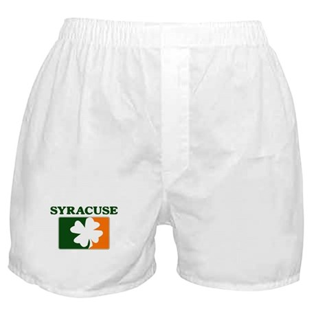 Syracuse Irish (orange) Boxer Shorts