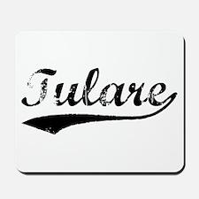 Vintage Tulare (Black) Mousepad