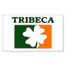 Tribeca Irish (orange) Rectangle Decal