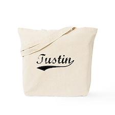 Vintage Tustin (Black) Tote Bag