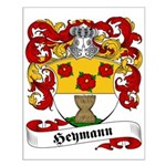 Heymann Family Crest Small Poster
