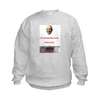 The Joy of Lard Kids Sweatshirt