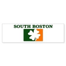 South Boston Irish (orange) Bumper Bumper Sticker