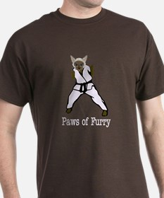 Paws of Furry T-Shirt