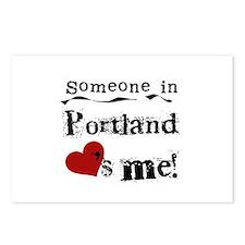 Portland Loves Me Postcards (Package of 8)