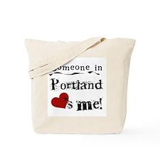 Portland Loves Me Tote Bag