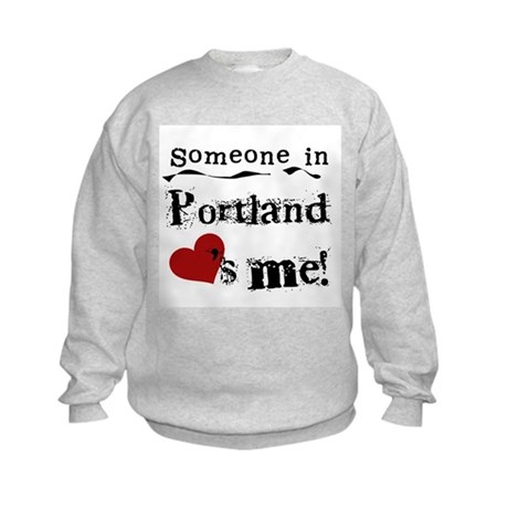 Portland Loves Me Kids Sweatshirt