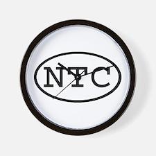 NTC Oval Wall Clock