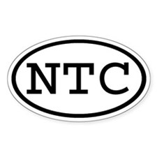 NTC Oval Oval Decal