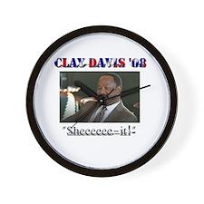 Clay Davis '08 Wall Clock