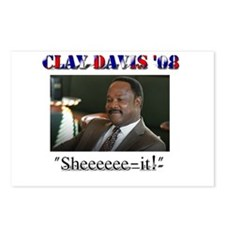 Clay Davis '08 Postcards (Package of 8)