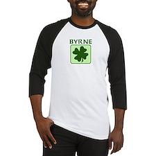 BYRNE Family (Irish) Baseball Jersey