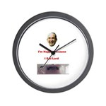The Joy of Lard Wall Clock