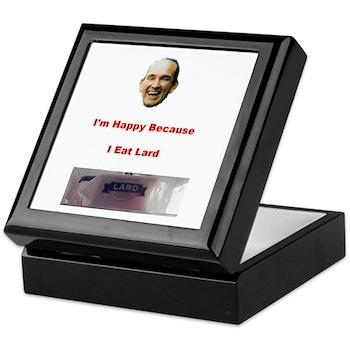 The Joy of Lard Keepsake Box