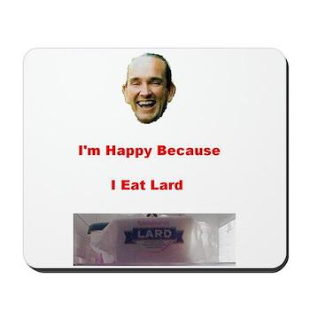 The Joy of Lard Mousepad