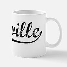 Vintage Vacaville (Black) Mug
