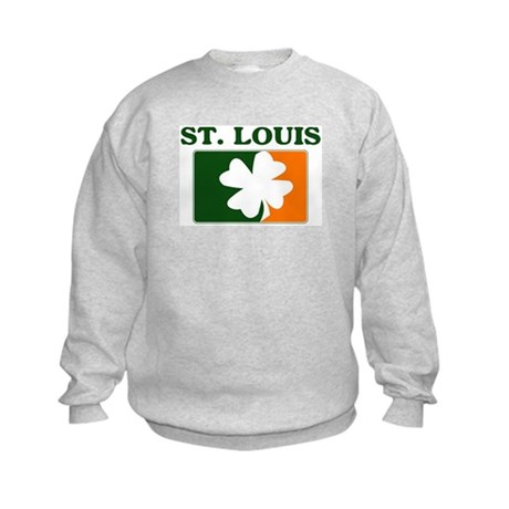 St Louis Irish (orange) Kids Sweatshirt