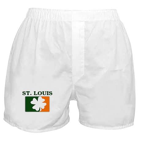 St Louis Irish (orange) Boxer Shorts