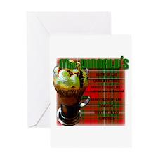 MAC DINNALD'S Greeting Card