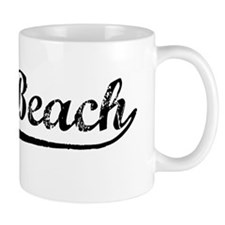 Vintage Vero Beach (Black) Mug
