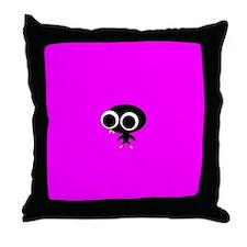 CLARISSA COO-COO Throw Pillow