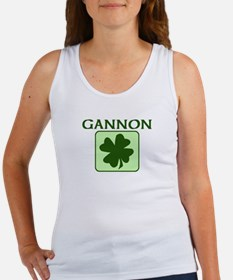 GANNON Family (Irish) Women's Tank Top