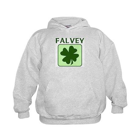 FALVEY Family (Irish) Kids Hoodie