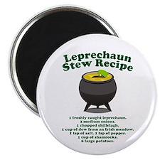 Leprechaun Stew Recipe Magnet