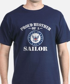 Proud Brother Of A US Navy Sailor T-Shirt