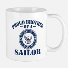 Proud Brother Of A US Navy Sailor Mug