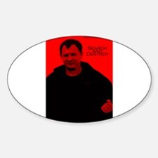 The Captain Oval Decal