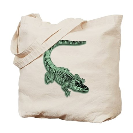 Florida Alligator Tote Bag