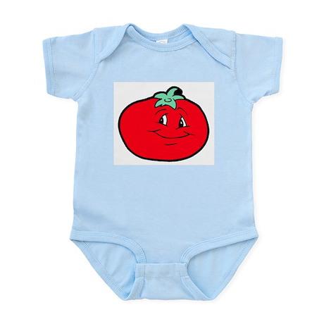 red tomatoe Infant Creeper