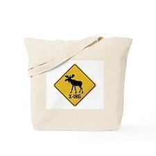 Finland: Moose Crossing Tote Bag