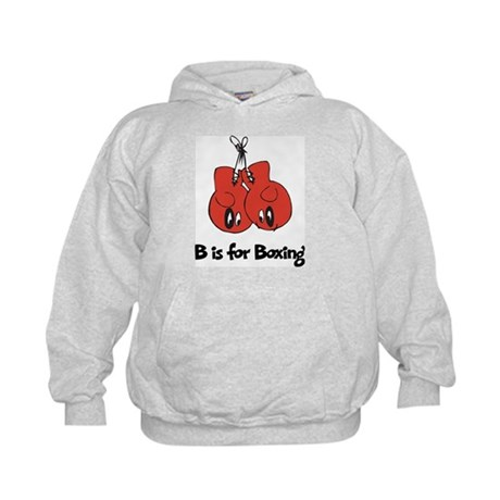 B is for Boxing Kids Hoodie